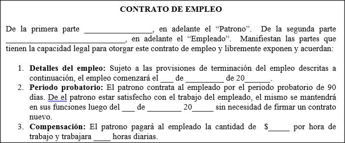 Modelo de contrato de aluguel residencial simples Contrato trabajo
