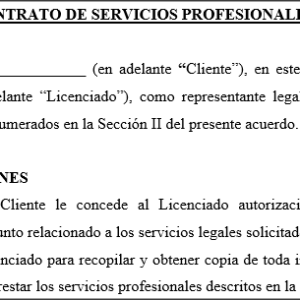 Contrato Legal - Reparación de Crédito | Tusdocumentospr ... - photo#50